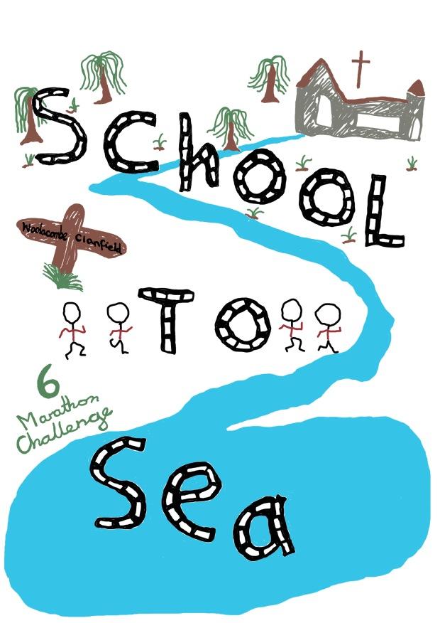Front A3 design t-shirt Clanfield school (1)